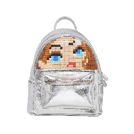 Upixel face off backpack silver