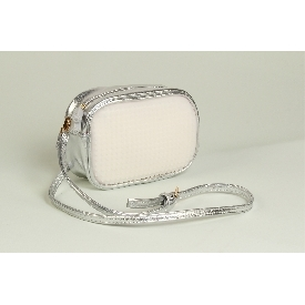 Upixel Face off shoulder Bag Silver