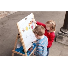 Adjustable 2 sided easel