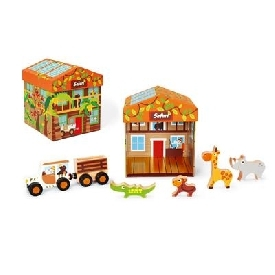 Play box safari 2 in 1