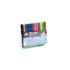 Colourfun markers wallet 12 micador