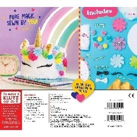 Sew your own unicorn cake pillow