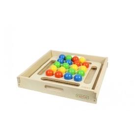 Jumbo wooden ball