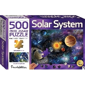 Puzzlebilities 500 piece Jigsaw Puzzle : Solar System
