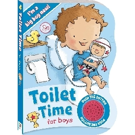 Toilet Time for Boys Sound Book