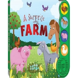 A surprise on the farm sound book
