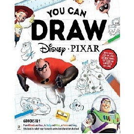 How-to-Draw Disney Pixar Binder