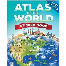 Atlas of the World Sticker Book