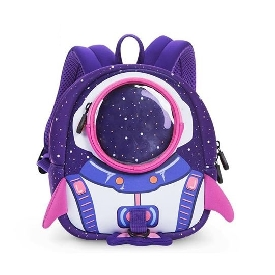 Uek rocket backpack purple/pink - s