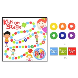 Kids on stage game