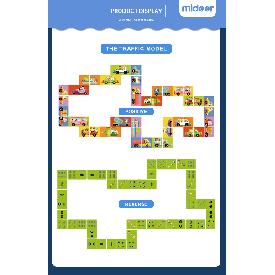 Domino puzzle traffic