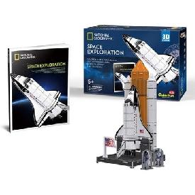 3d puzzle - space exploration