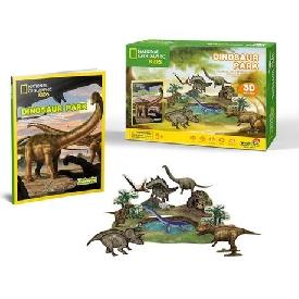3D Puzzle - Dinosaur Park