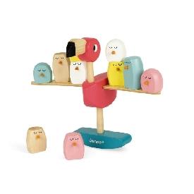 Balance game flamingo