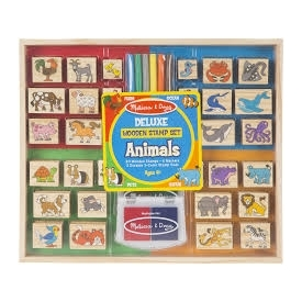 Deluxe Stamp Set Animals