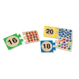Self-correcting numbers puzzles