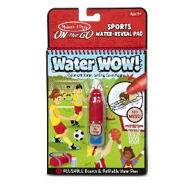 Water wow reusable coloring - sports