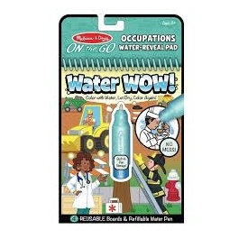 Water Wow Reusable Coloring - Occupation