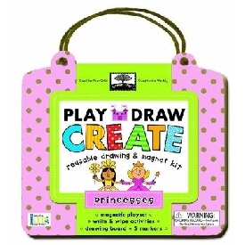 Play draw create princesses