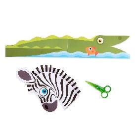 Safari scissor skills activity pad