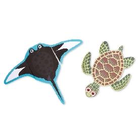 Sea life scissor skills activity pad