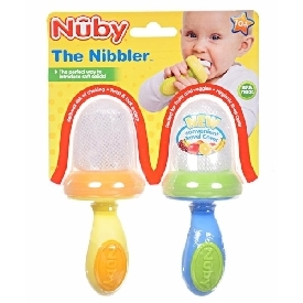 Nuby nibbler with cover