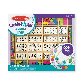 Deluxe bead set alphabet