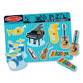 Sound puzzle musical instruments