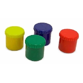 Finger paint set 4 colors