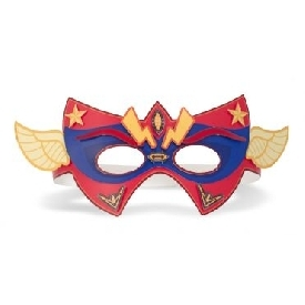 Make your superhero masks and cuffs