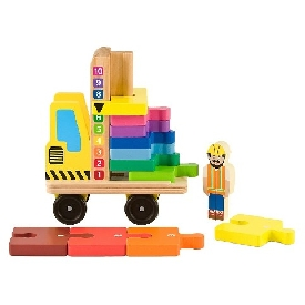 Stack & count forklift
