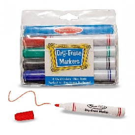Dry-erase marker set (4 pcs.)