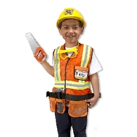 Construction role play costume