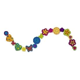 Wooden bead set - deluxe bouquet
