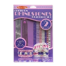 DIY Rhinestone Bracelet