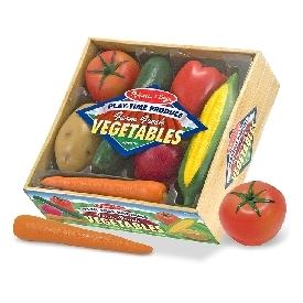 Play food - farm fresh vegetables