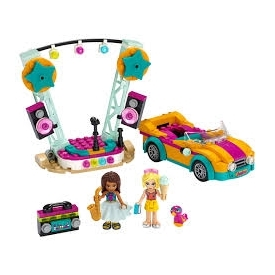 andrea's car & stage