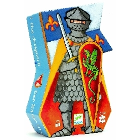 The knight at the dragon puzzle