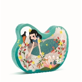 The Lady with the Swan Puzzle