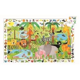 Jungle observation puzzle
