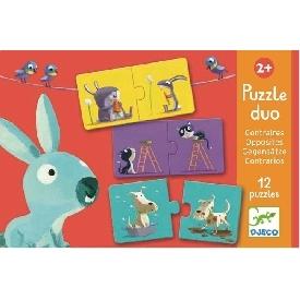 Puzzle duo Opposites