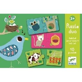 Puzzle duo Habitat