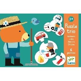 Puzzle trio jobs