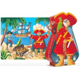 The pirate and his treasure - 36 pcs