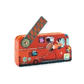 The fire truck - 16pcs