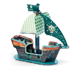 Pirate boat 3d pop to play