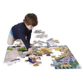 Floor puzzle safari social 24 pc