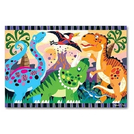 Floor puzzle dinosaur dawn 24pc