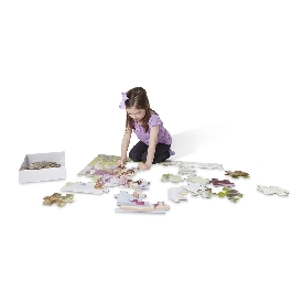 Floor puzzle fairy tale castle 48 pc