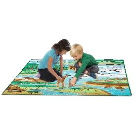 Jumbo habitat activity rug